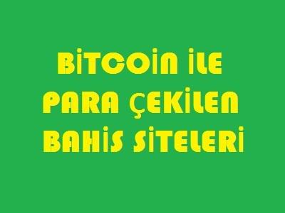 bitcoin ile para çekme