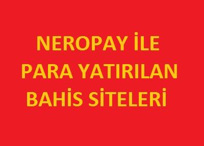 neropay ile bahis